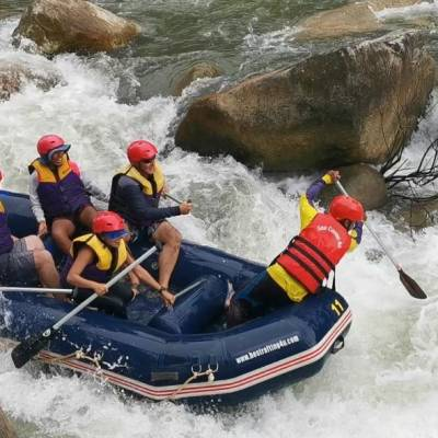 White water rafting Thailand