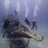 Wreck diving at Racha Yai Phuket
