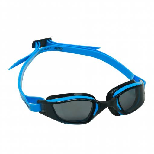 Xceed swimming goggles smoked lens black frame