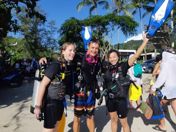 advanced scuba diving course kata beach phuket