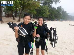 Phuket Sandbox Scuba diving kata beach