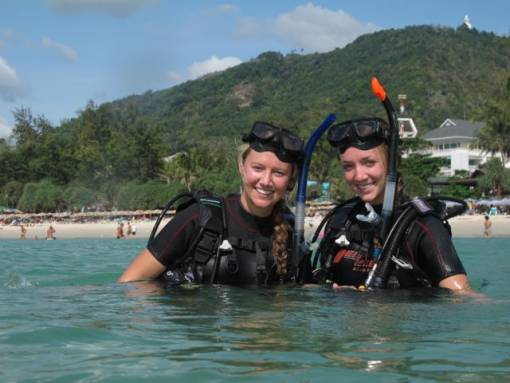 Kata Beach scuba diving for beginners