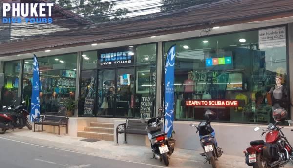 Phuket Dive Tours scuba diving shop