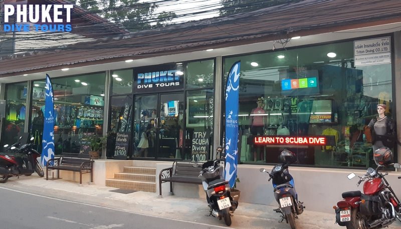 Phuket Dive Tours scuba diving shop