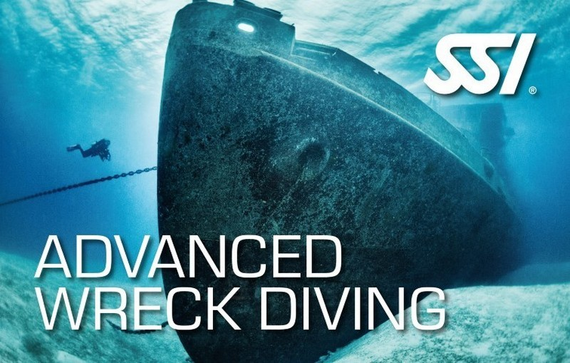 e learning Advanced Wreck Diving Course