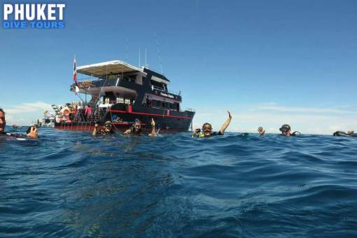Racha Noi Island scuba diving Day trip