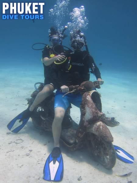 fun diving at Racha Yai