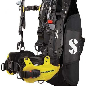 Hydros pro yellow scuba diving pro bcd
