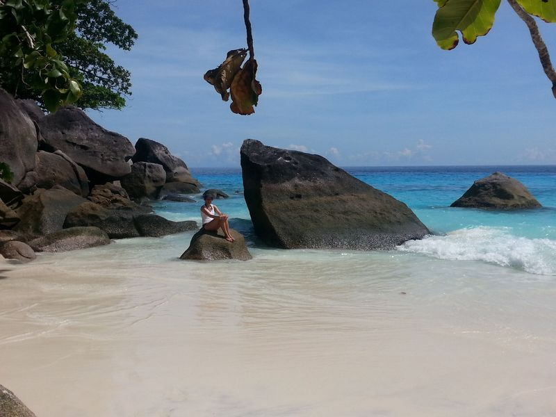 isolated beaches similan islands