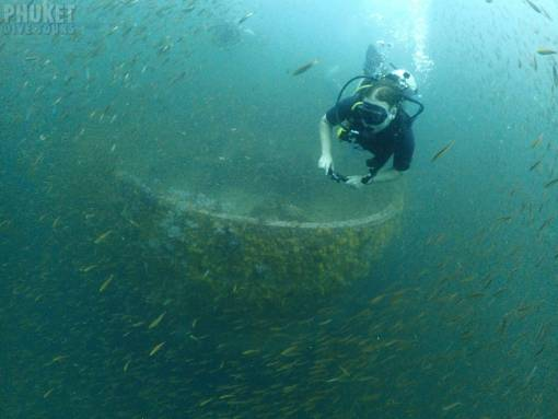 king cruiser wreck dive 4