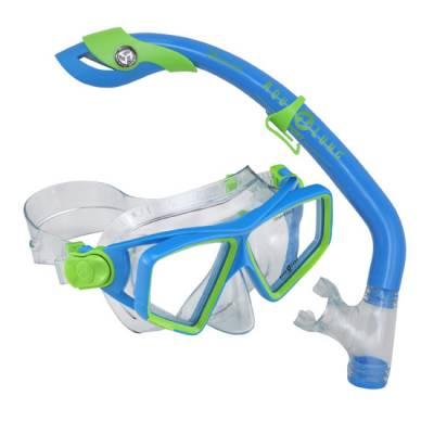 Lanai LX snorkeling Mask & Snorkel combo Blue
