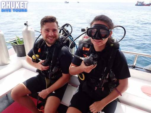 open water diver course thailand with Phuket dive tours
