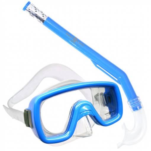 Peeka Childs snorkeling Mask Snorkel combo Blue
