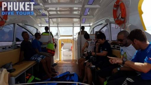 Half Day scuba diving in Phuket with our diving instructors