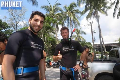 phuket diving kata beach
