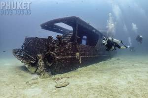Racha yai Harruby ship wreck