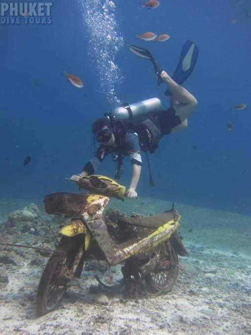 scuba diving at racha yai
