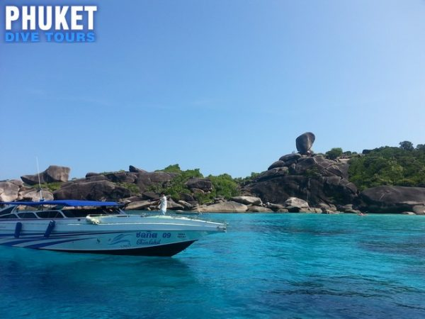 Similan islands day trip by speedboat