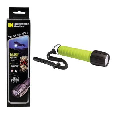 Underwater Kinetics scuba divers torch Yellow