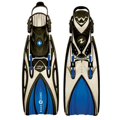 slingshot open heal scuba diving fin Blue