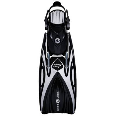 slingshot open heal scuba diving fin Black