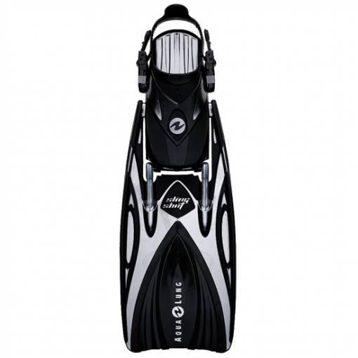 slingshot open heal scuba diving fin Black