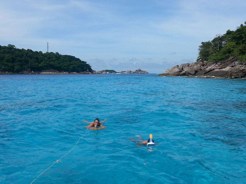snorkeling at similan islands