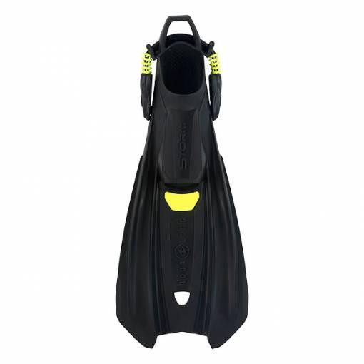 Aqualung Storm diving fins Black Lime