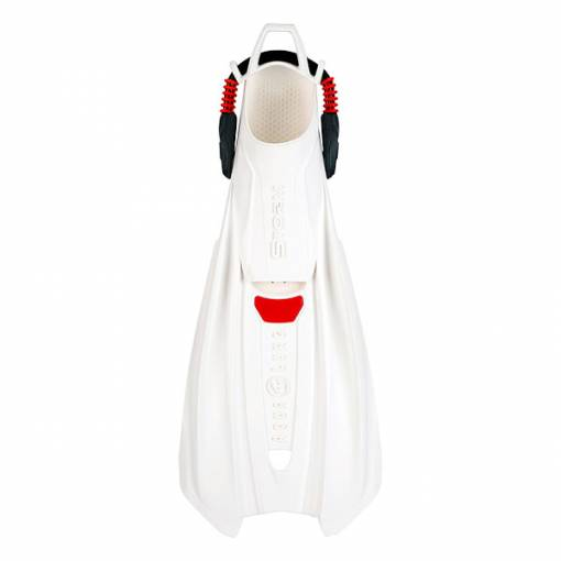 Aqualung Storm diving fins White Red