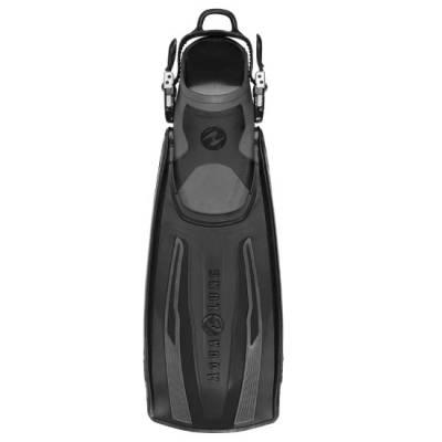 Stratos open heal scuba diving fin black