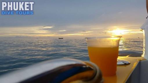Sunset charters in phuket